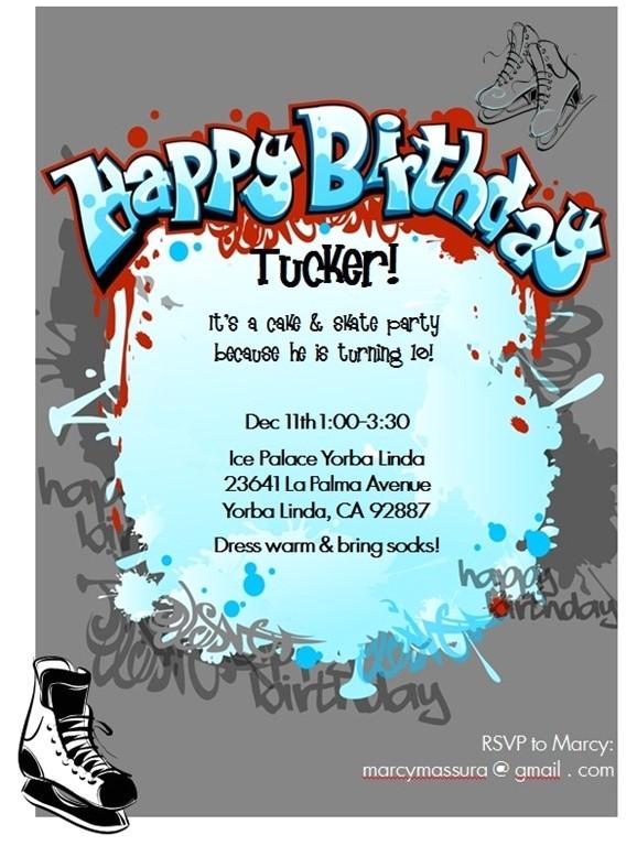 rockstar invitations