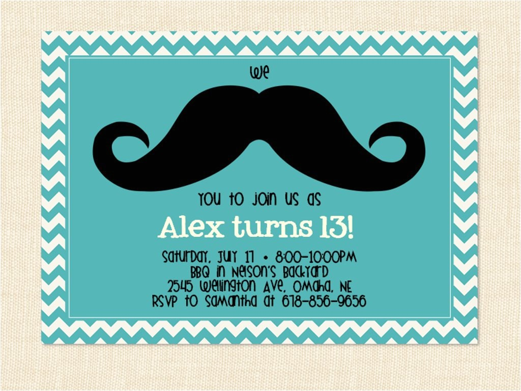 13th birthday party invitations for girls printable