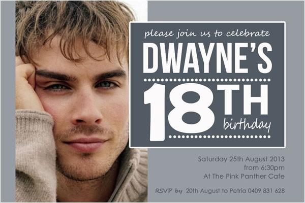 18th birthday party invitations templates