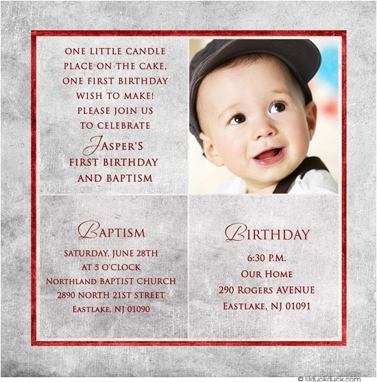 first birthday invitation wordings for baby boy