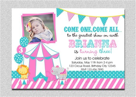 carnival birthday invitation 1st birthday carnival