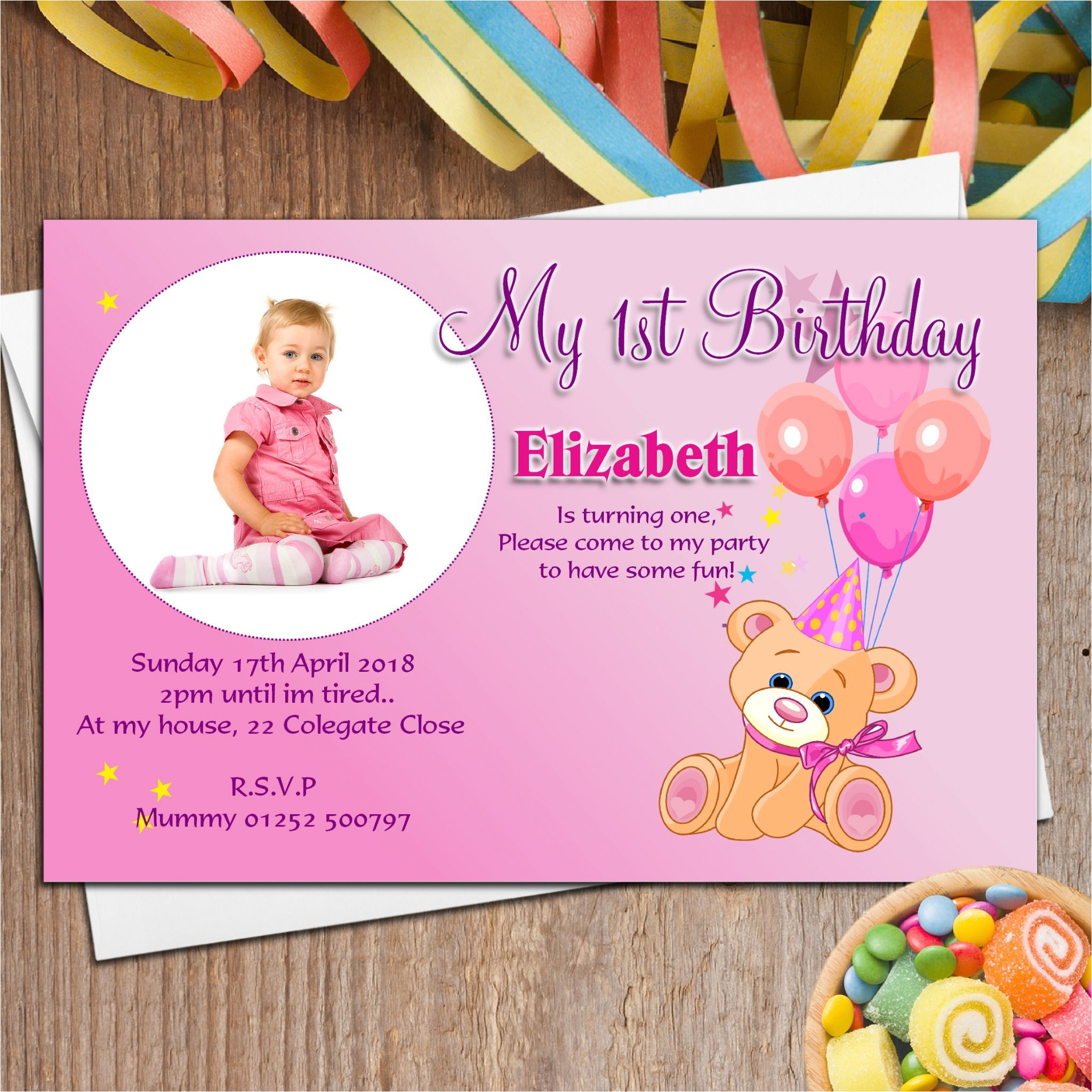 baby birthday invitation card matter in marathi