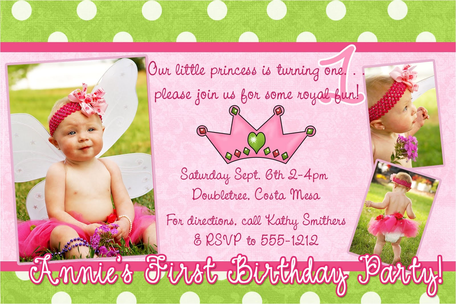 birthday invitation card samples