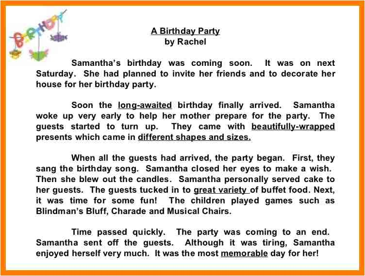 how to write a invitation letter for my birthday party