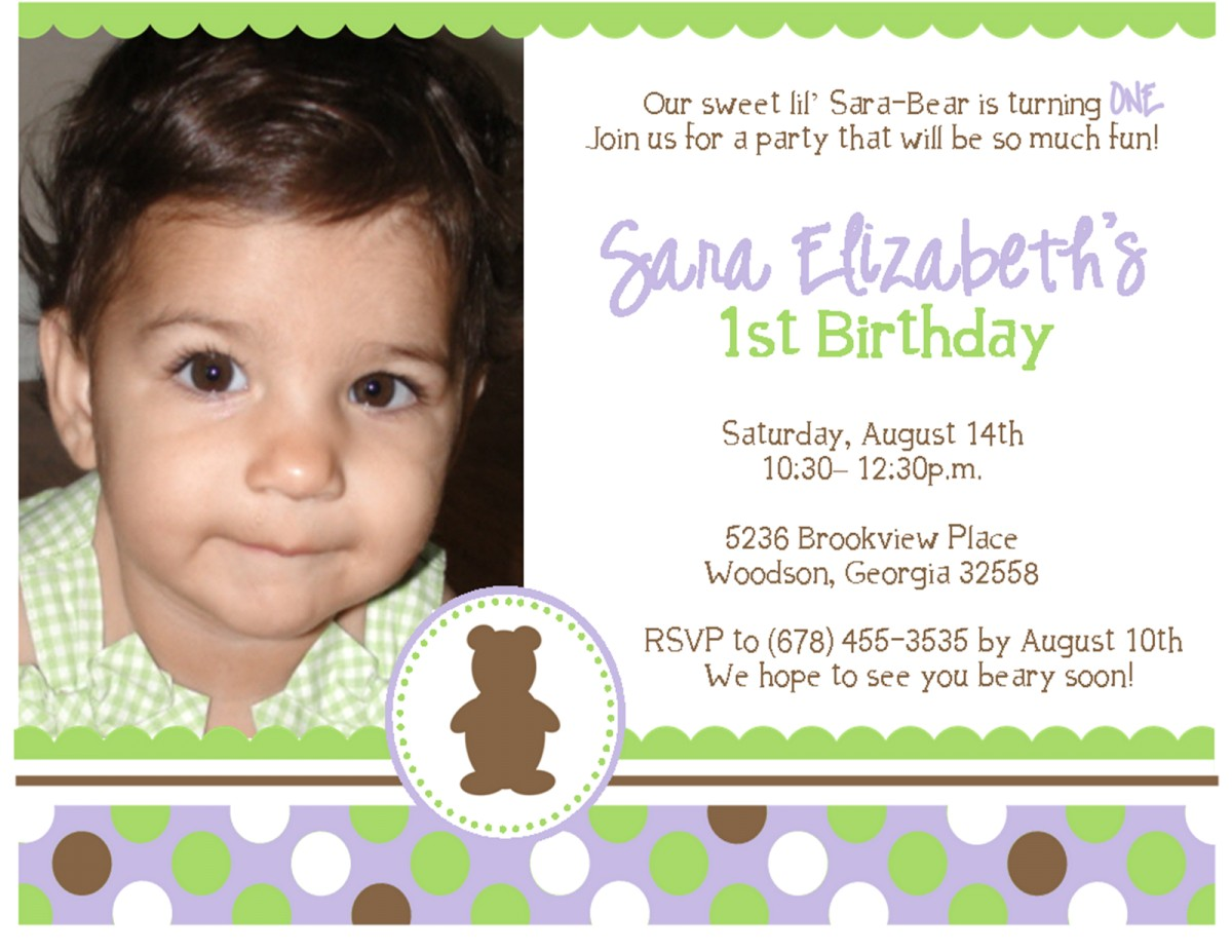 1st birthday invitation card matter in marathi