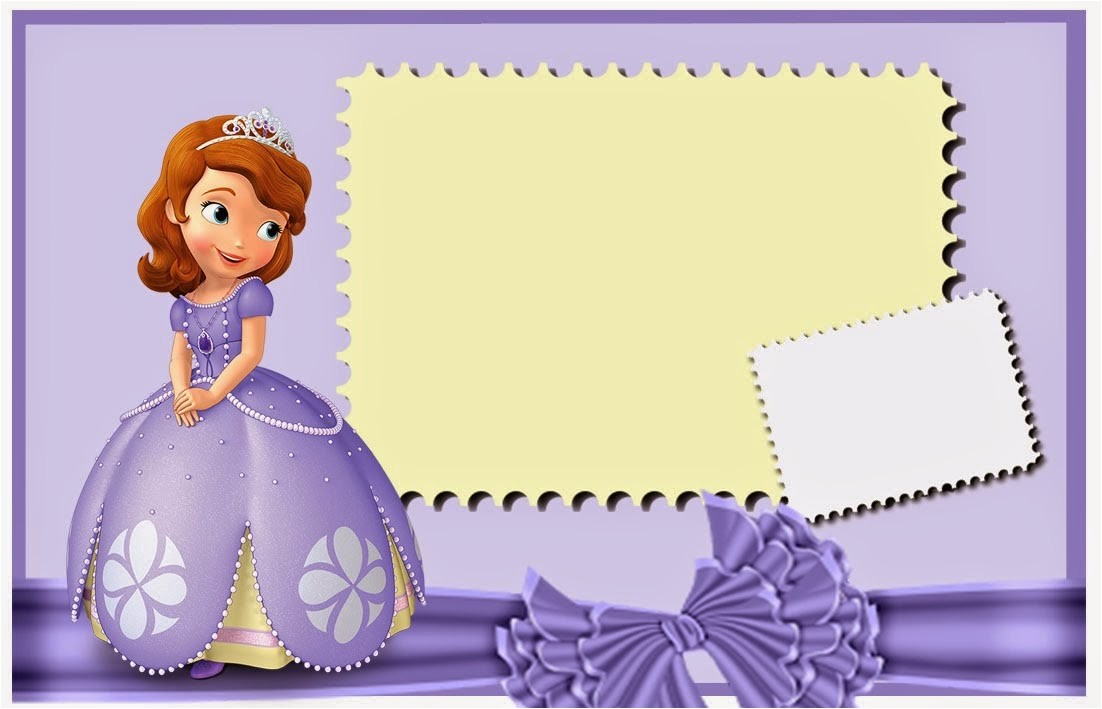 sofia first free printable invitations