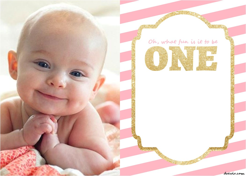 free printable 1st birthday invitations template