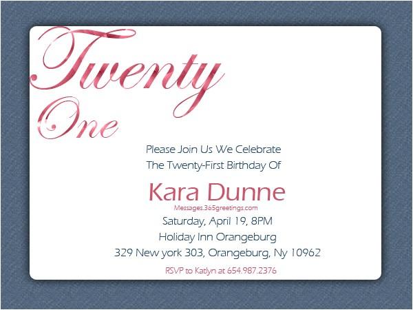 21st Birthday Invitations Templates 21st Birthday Invitations 365greetings Com