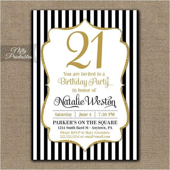 free printable 21st birthday invitations wording