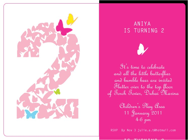 2nd birthday quotes for girl