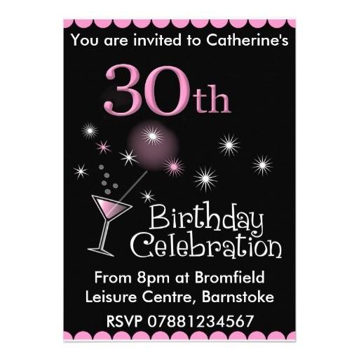 30th Birthday Invites Free Free 30th Birthday Invitations Templates Free Invitation