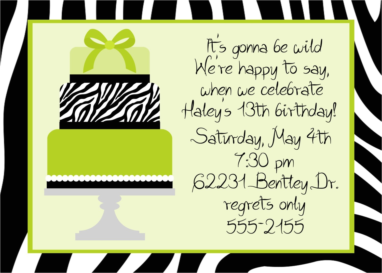 birthday dinner invitation wording ideas
