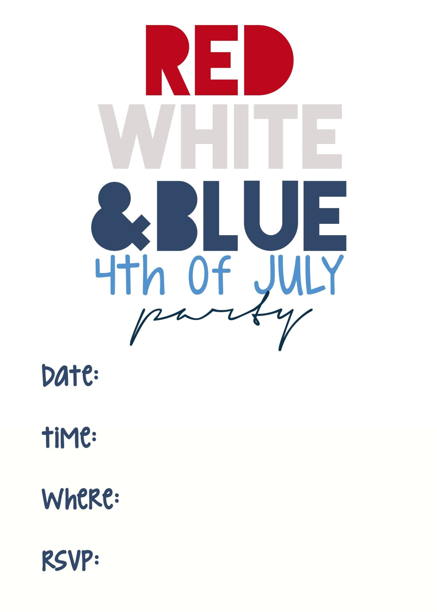 free 4th of july printables 2