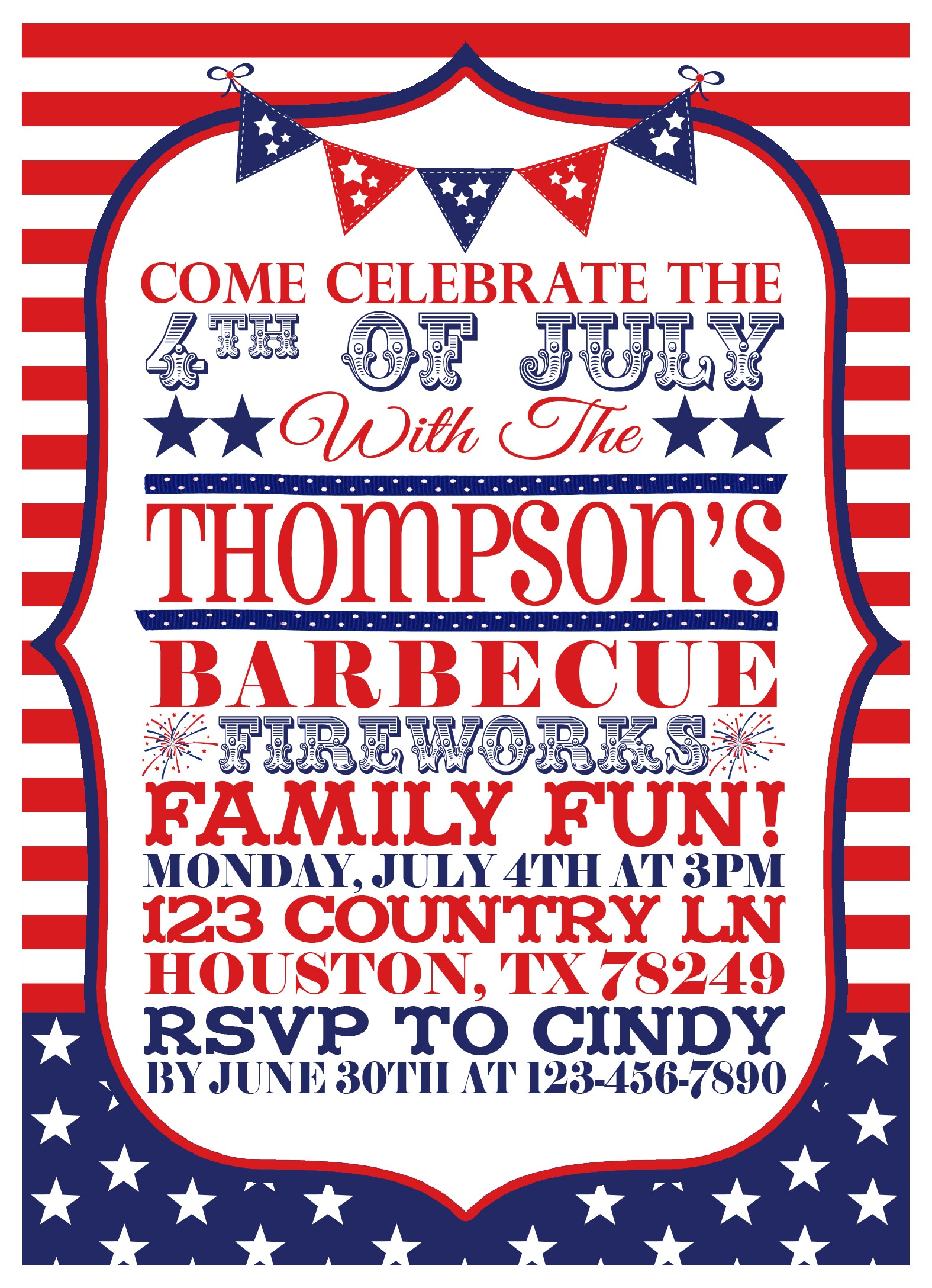 post 4th of july printable invitations 82141