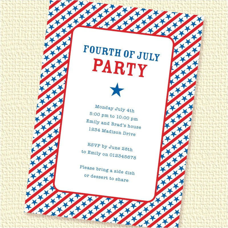 starry stripes fourth of july party