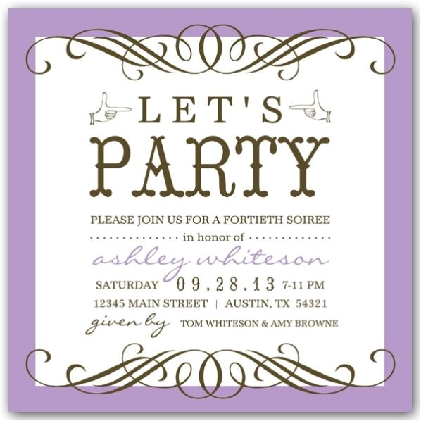 50th Birthday Invitation Ideas 50th Birthday Party Invitations Wording