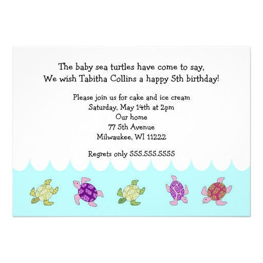 girl 205th 20birthday 20party 20invitation 20wording