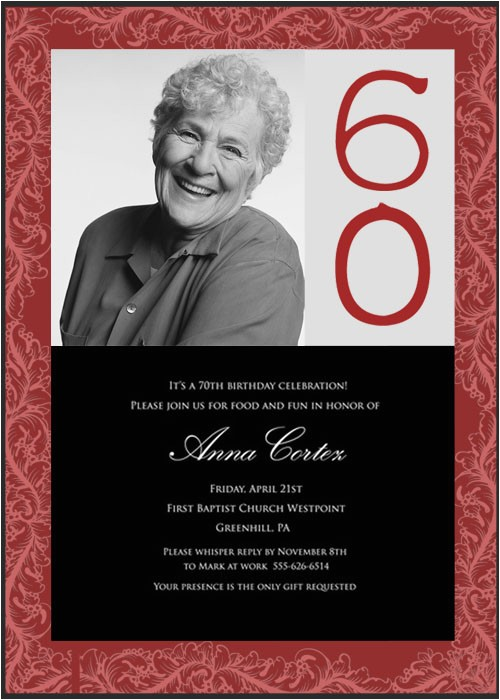 surprise 60th birthday party invitation wording ideas