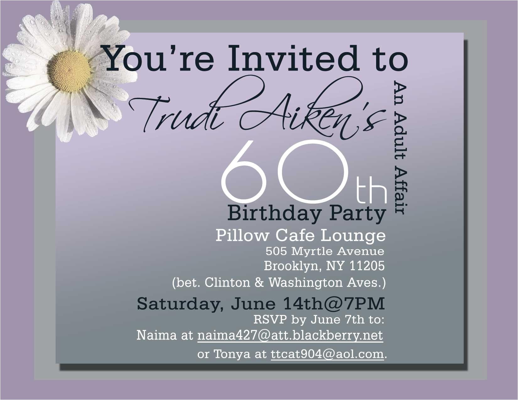 unique ideas for 60th birthday invitations free with alluring layout the cool party invitations simple design 60th birthday invitations silverlininginvitations