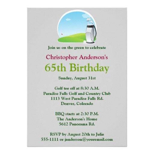 65th birthday invitation verses