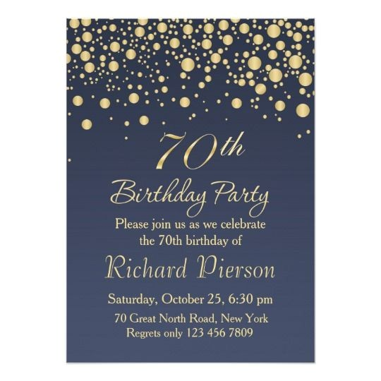 70th Birthday Invitations for Her Download 70th Birthday Invitation Designs Free Printable