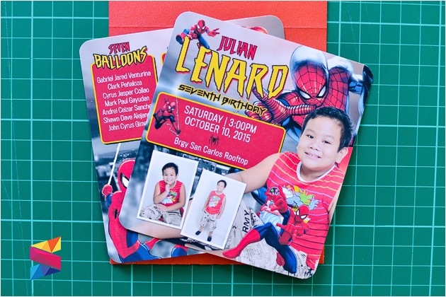lenard spiderman themed 7th birthday