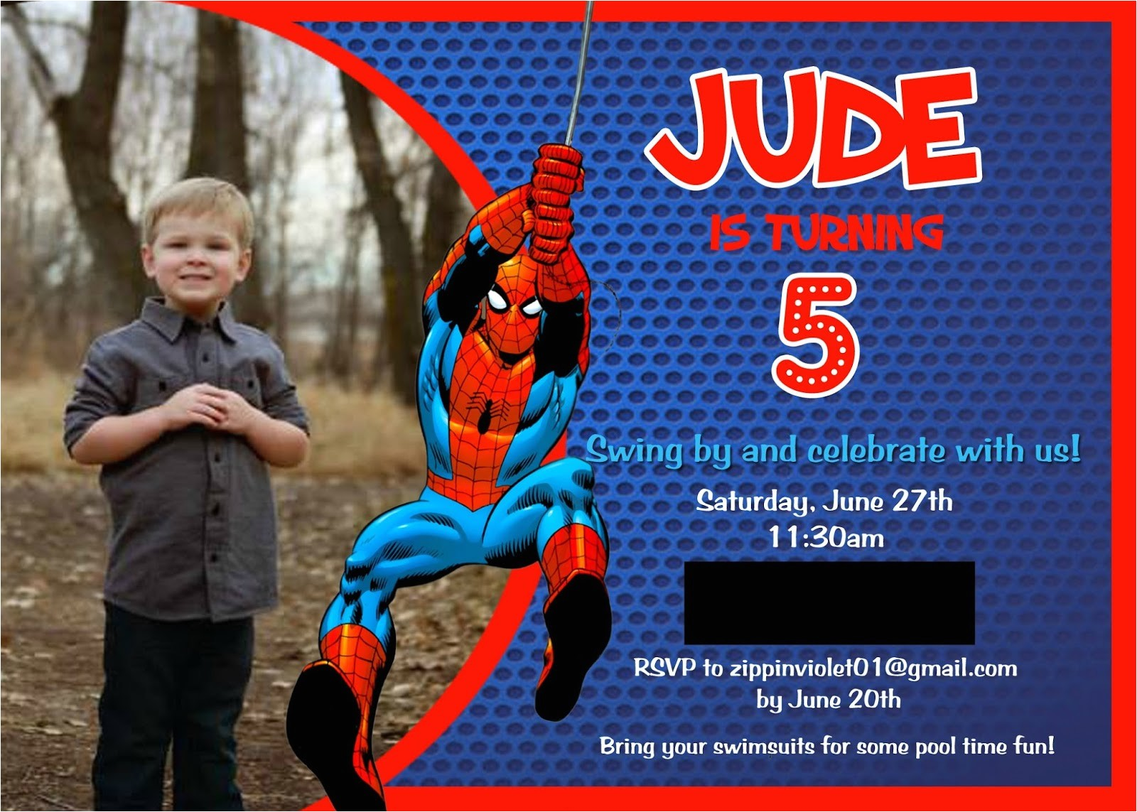 spider man birthday party