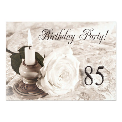 birthday party invitation 85 years old 161287873976051554
