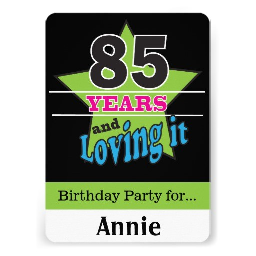 surprise 85th birthday party gifts