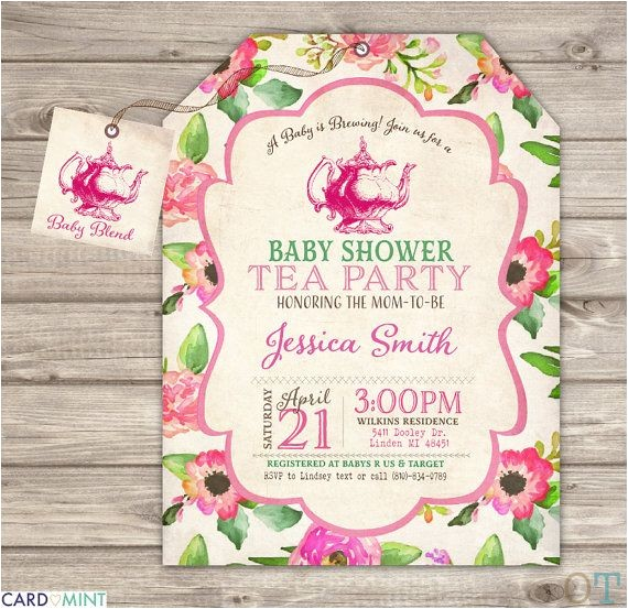 tea baby showers