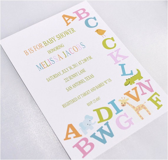 alphabet baby shower invitations ref=sr gallery 14&ga search query=abc baby shower &ga view type=gallery&ga ship to=US&ga search type=all