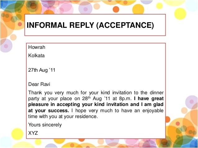 formal and informal invitation kls 11 kurikulum 2013