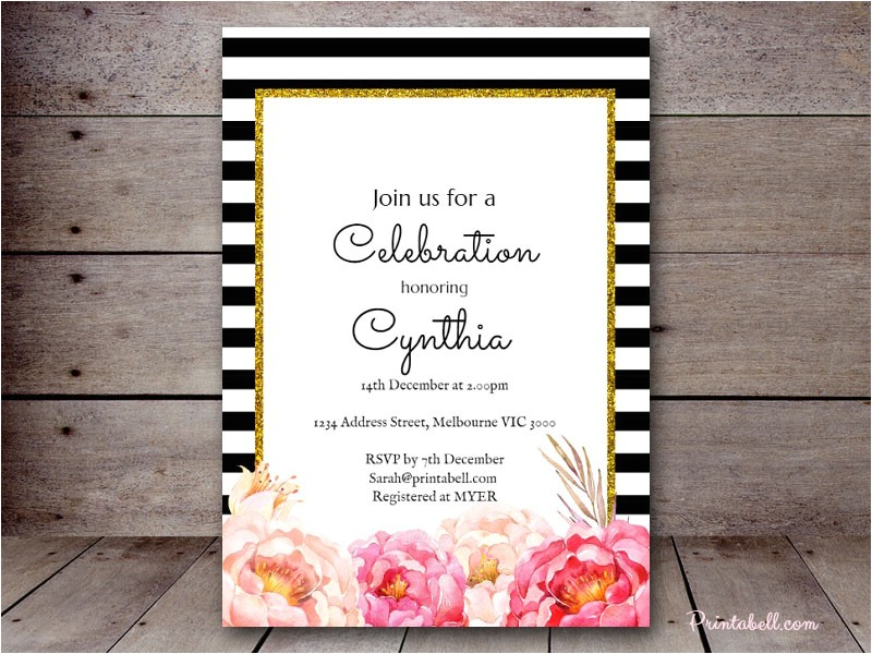 bridal shower invitations how to address