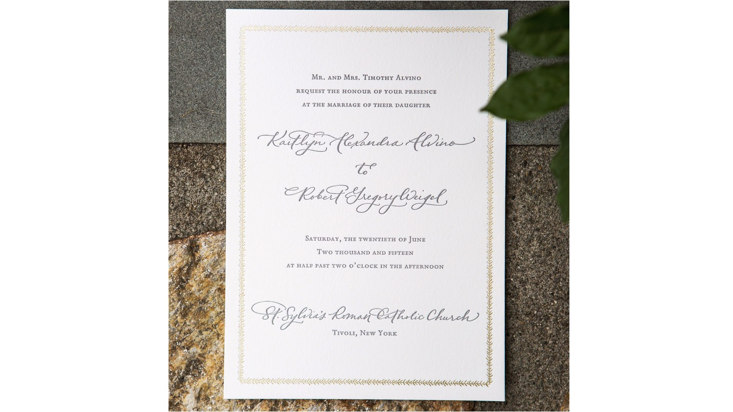 common wedding invitation wording