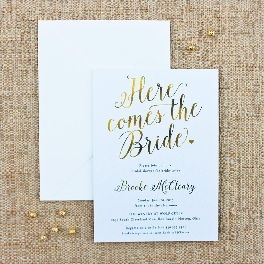 wedding shower invitations addressing