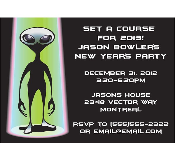 space aliens invitation 435050