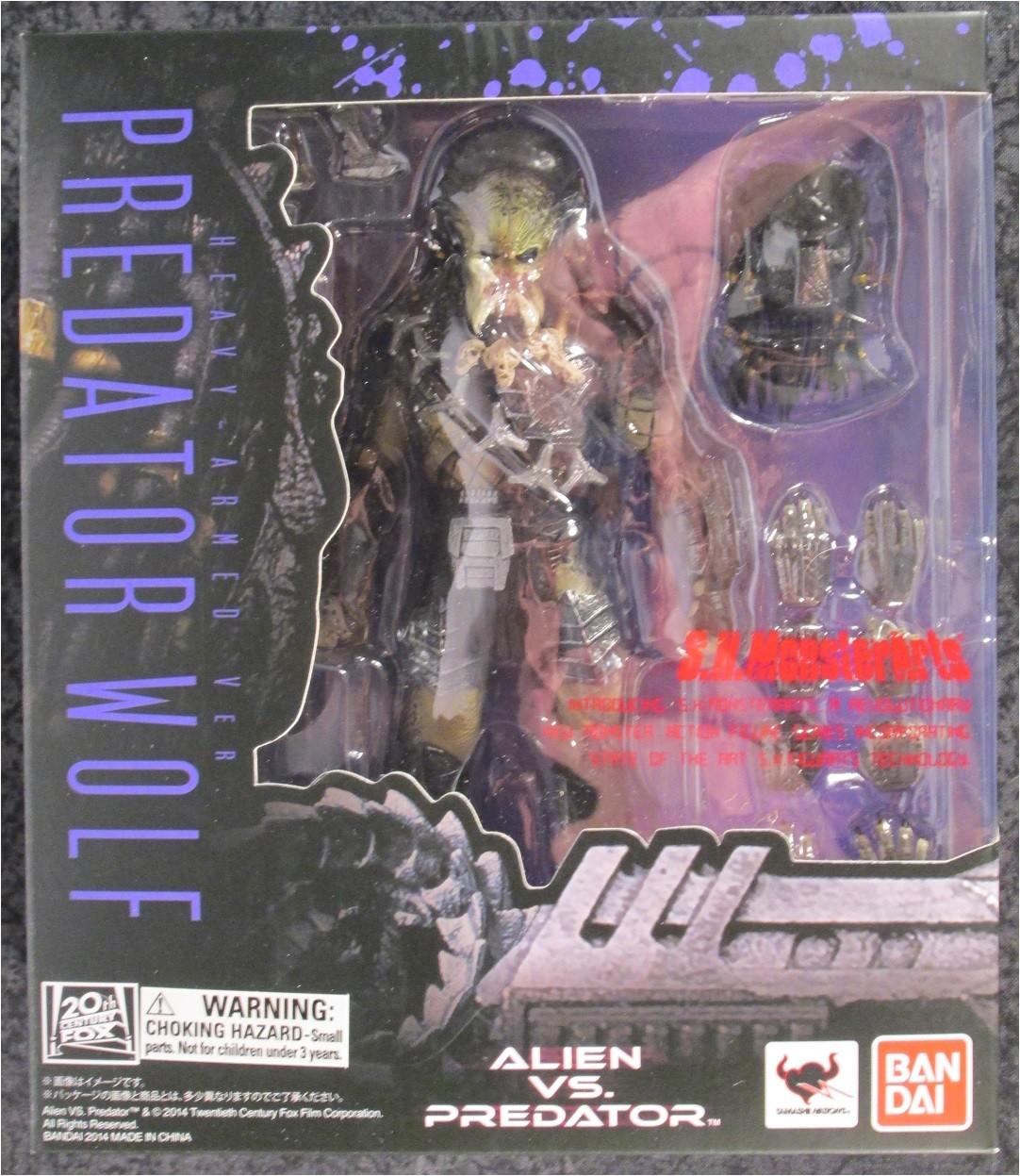 465 Alien vs Predator Requium Heavy Armed Predator Wolf