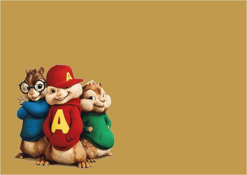 free printable for alvin and the chipmunks birthday invitations