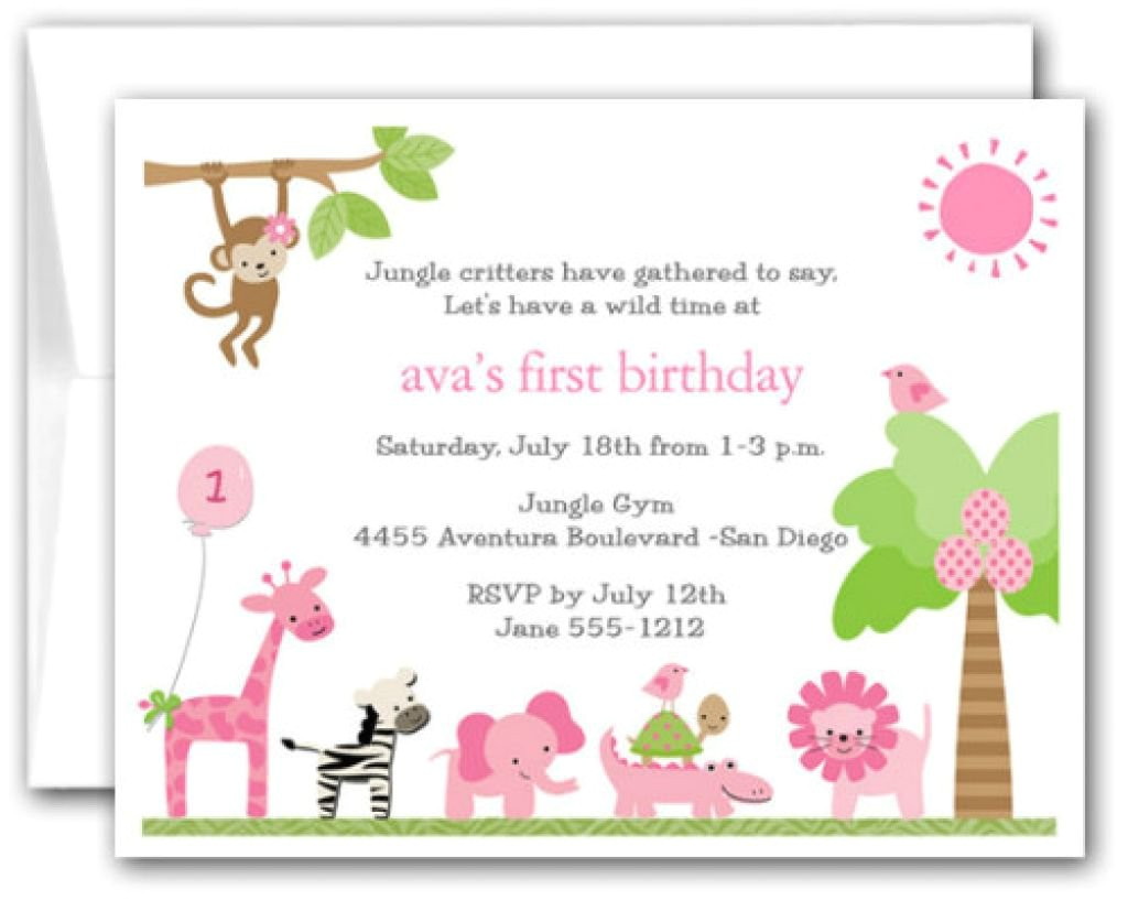 kids birthday invitations