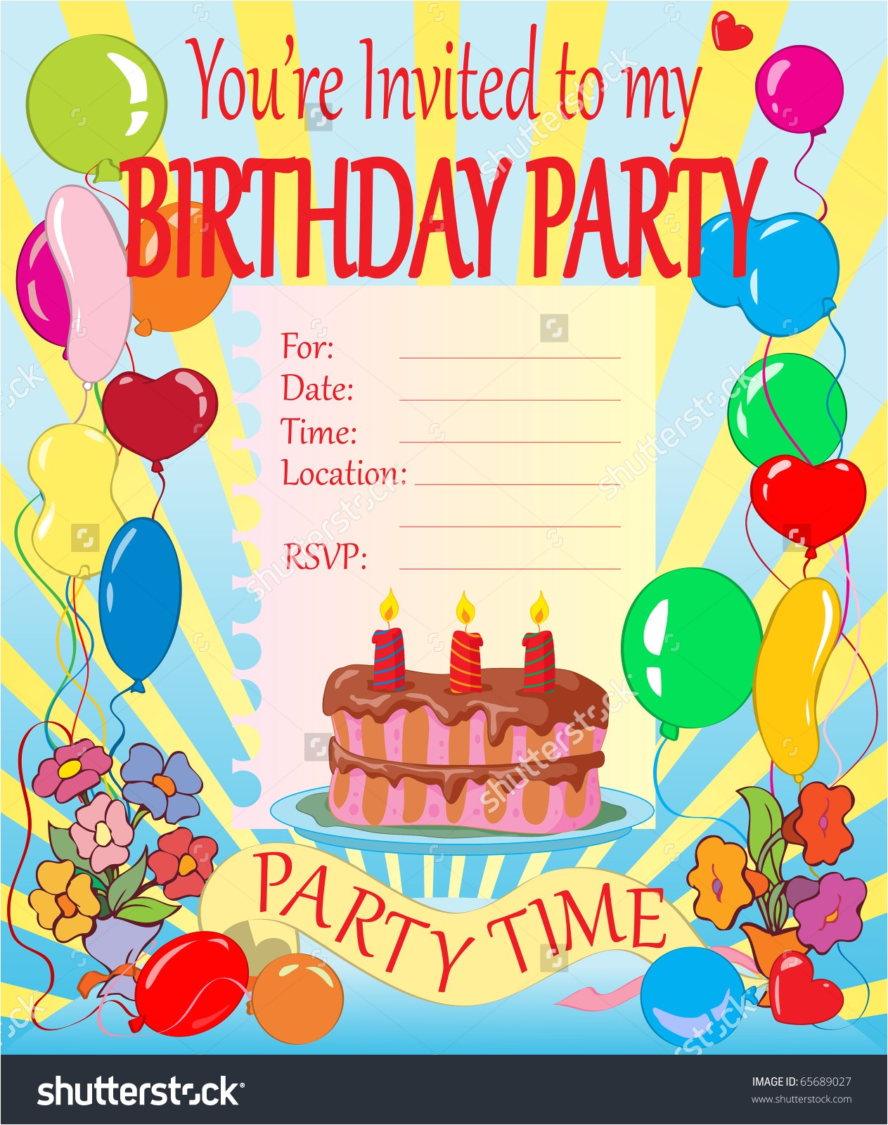 top 19 invitation cards for birthday party