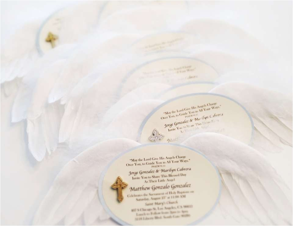 angel baby baptism
