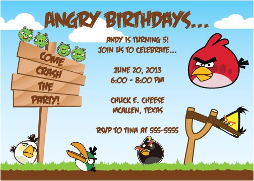 angry bird invitations templates ideas