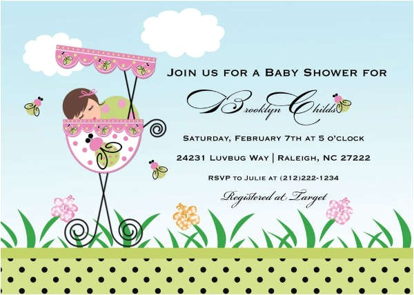 Animated Baby Shower Invitations 88 Free Invitation Cards