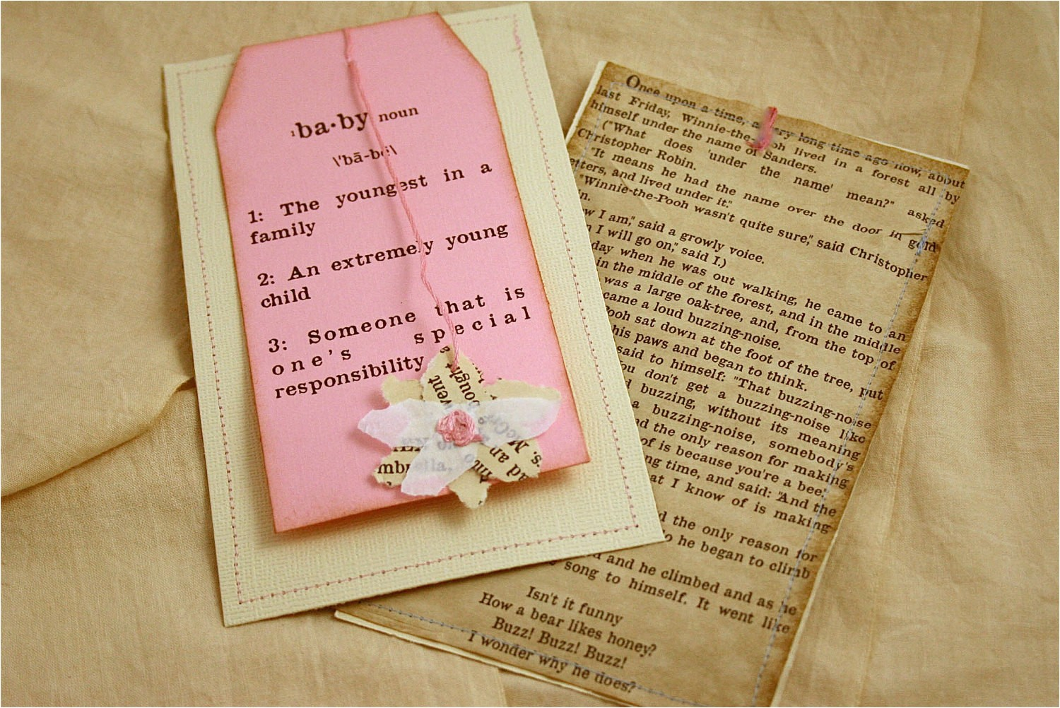 vintage baby shower invitation girl