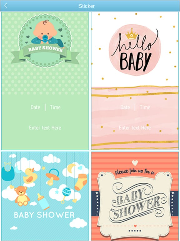 baby shower invitation cards maker hd