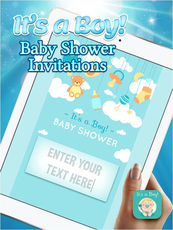 its a boy baby shower invitations