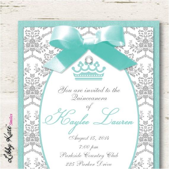 quinceanera invitations sweet 16 sweet