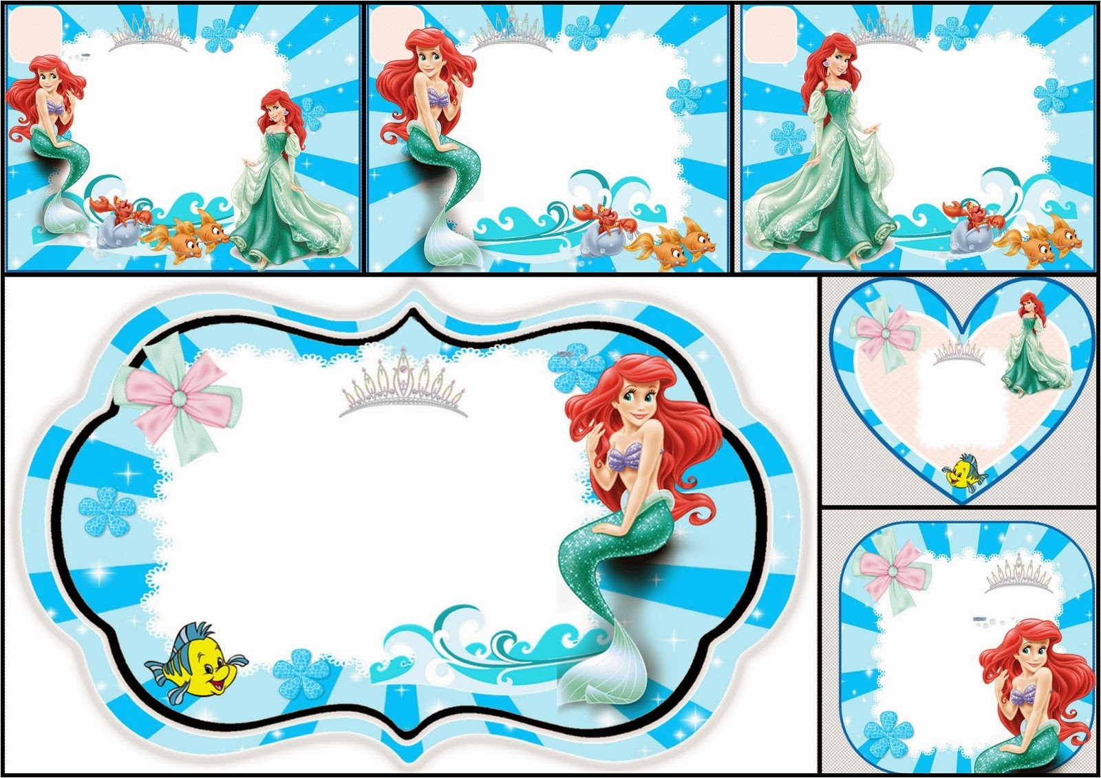the little mermaid free printable 14