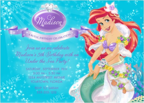post printable ariel party