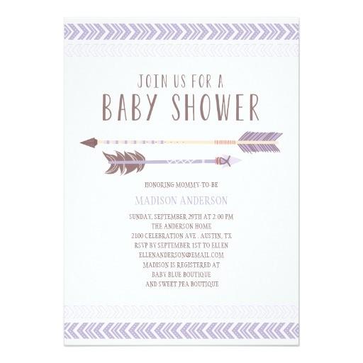 Aztec Baby Shower Invitations Aztec Baby Shower Invitation